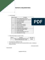 Orçamento SPDA - GEOPETRO
