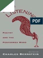 Bernstein, Charles & others - Close Listening.pdf