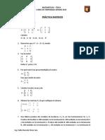 Práctica Matrices