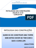 Unp Patologia-conceitos Aulas 1,2 - Set 2017