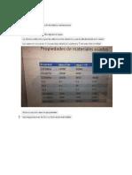 Propiedades y Características de Los Materiales Usados Como Probetas de Palas