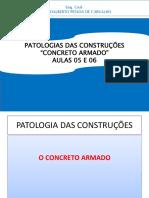 Unp Patologia-concreto Aula 5,6 - Agosto 2017 2