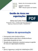 Gilmar Trivelatto Gestao de Riscos Nas Organizacoes (1)