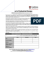 Industrial Design Waiver 2017