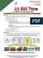 2017-TB61 Bocas Del Toro, Grupal 12-15 Agosto