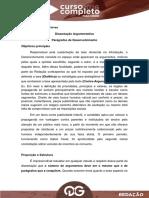 Dissertação Argumentativa II
