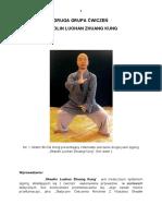 Druga Grupa Ćwiczeń Shaolin Luohan Zhuang Kung