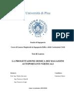 Tesis en Italiano Del Analisi de Un Almacen