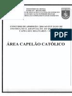 Exercito 2016 Esfcex Capelao Catolico Prova