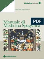 Estratto Manuale Di Medicina Spagyrica