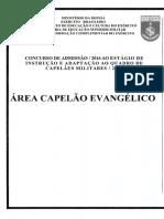 Exercito 2016 Esfcex Capelao Evangelico Prova