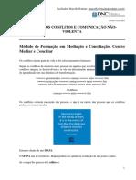Teoria Do Conflito e Cnv Centro Mediar e Conciliar 20-07-17