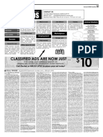 Claremont COURIER Classifieds 8-25-17