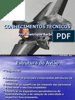 Aula II - Conhecimentos Técnicos - Estrutura Do Avião