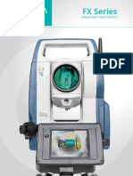 Sokkia FX Series Total Station Brochure