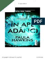 Paula Hawkins - In Ape Adanci