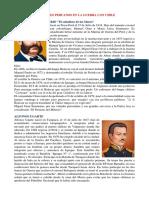 Personajes de La Guerra Con Chile