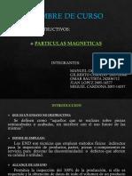 End - Particulas Magneticas