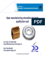 Gear Manufacturing Process