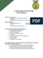 principles of floral design - syllabus17