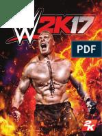 WWE 2K17 PS4 Online Manual