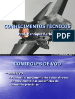 Aula III - Conhecimentos Técnicos - Controles de Vôo