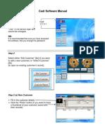 Cadi Software Manual