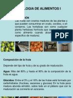 Tecnologia de Frutas y Hortalizas i