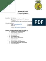 equine science- syllabus17