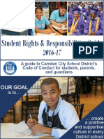 Camden City School District's guide to student rights and code of conduct