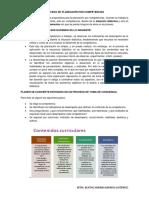 Proceso de Planeación Por Competencias