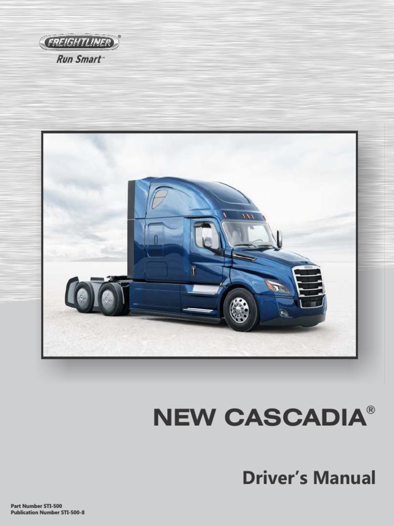 New Cascadia Driver's Manual2 pdf | Axle | Truck