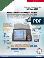 MEXA-584L E Catalog