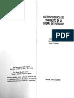 Dominguito, Correspondencia de La Guerra Del Paraguay