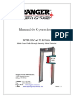 Manual Intelliscan 33 Zonas Español