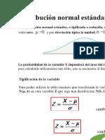 Práctica Distribución Probabilidades Dist Normal