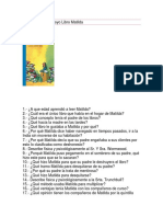 Cuestionario de Apoyo Libro Matilda