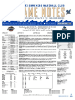 8.25.17 vs. MOB Game Notes