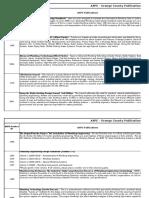 Member ASPE Publications Order Form