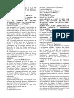 Aprueban reglamento de Ley28305 Control de Insumos Quimicos.pdf