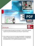 APRESENTACAO - Aula 06 Projeto de Automacao