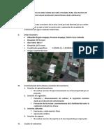 Valoración Ambiental de Area Verde Que Será Utilizada Para Una Planta de Tratamiento de Aguas Residuales Industriales (Pirs-Arequipa)