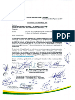 Proyecto de Modificación de Estatuto del Fondo Social Michiquillay