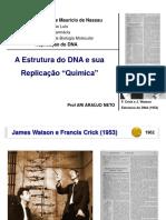 Aula 02 - BIOMOL - Estrutura Do DNA e Replicação