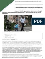 Operación Onerat Por Qué Está Fracasando El Despliegue Del Ejército en Río de Janeiro