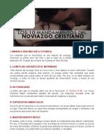 Los 10 Mandamientos Del Noviazgo