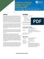 Melamine Test(HPLC GC)