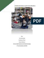 Desarrollo Del Hábito de Lectura a Partir de La Literatura