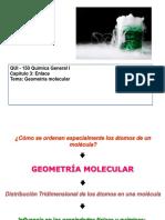 Enlace Químico 2 Geometría Molecular
