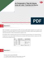 Sesion 8 - Interes Compuesto a Tasa de Interes Efectiva - Ecuaciones de Valor - Cuentas de Ahorro (2)